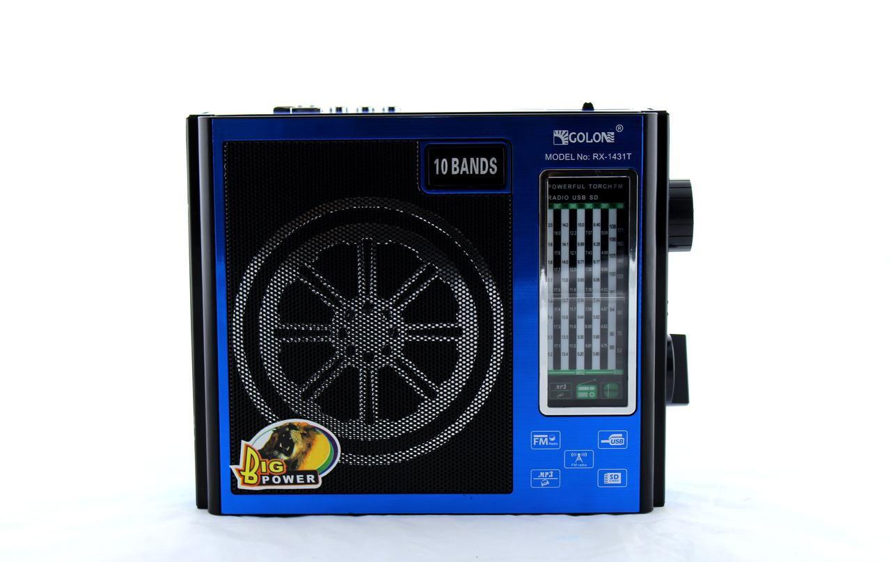 Портативный радиоприемник Golon RX-1431T радио