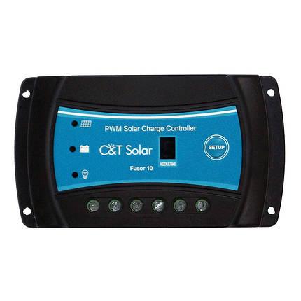 ШИМ-контроллер заряда для уличного освещения C&T Solar Fusor 1024, фото 2