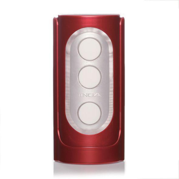 Мастурбатор Tenga Flip Hole Red с управлением давления на пенис, 3 смазки в комплекте