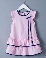 Летнее платье для девочки на рост 80-122