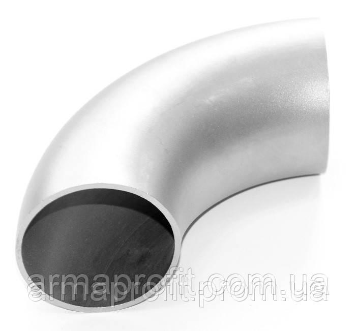 Отвод нержавеющий шовный 52х2,0 AISI 304 DIN 11850