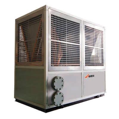 Тепловой насос ACWELL FSLRDM-13 (воздух(до -20С) - вода) 14,4 кВт, фото 2