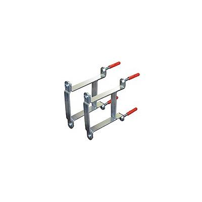 Комплект консолей для крепления гидравлической стрелки HW 60 к стене, фото 2
