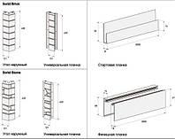 Фасадные панели VOX  угол наружный