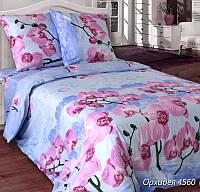 Постельное белье Блакит бязь Орхидея Семейный комплект наволочки 50х70 (2 шт)