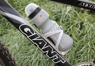 Фляга велосипедная Trek Discovery (серая) 550 мл, фото 3