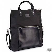 Черная женская сумка из ткани BBAG TWIST BLACK CV-B86