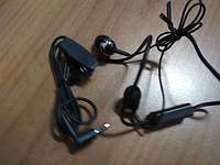 Наушники Нокия 2.5мм штекер коннектор узкий micro-jack 2.5 mm HS-47 для N95 N97