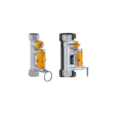 """Балансировочный клапан с индикатором протока Caleffi Solar 3/4"""", 7-28 l/m, t.max=130C"""