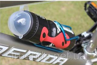 Фляга велосипедна Discovery (чорна) 650 мл, фото 3