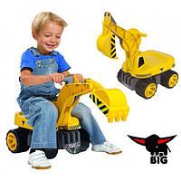 Экскаватор для катания малыша Big 55811, фото 1