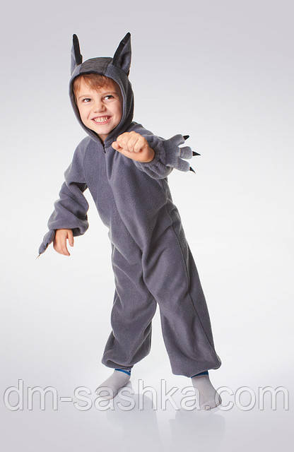 Детский карнавальный костюм «Волк»