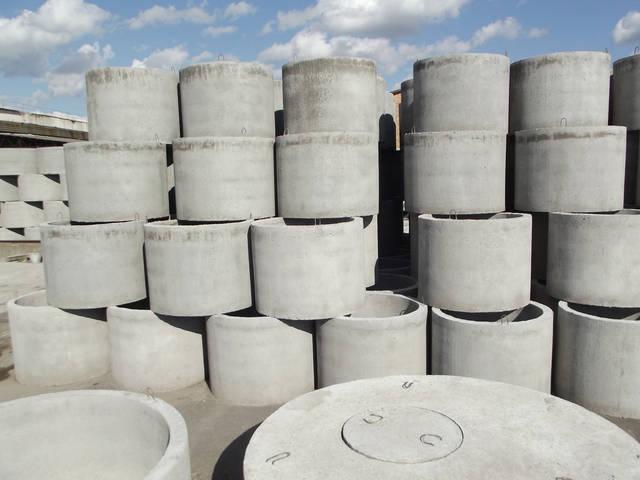 Производство бетонных колец 1