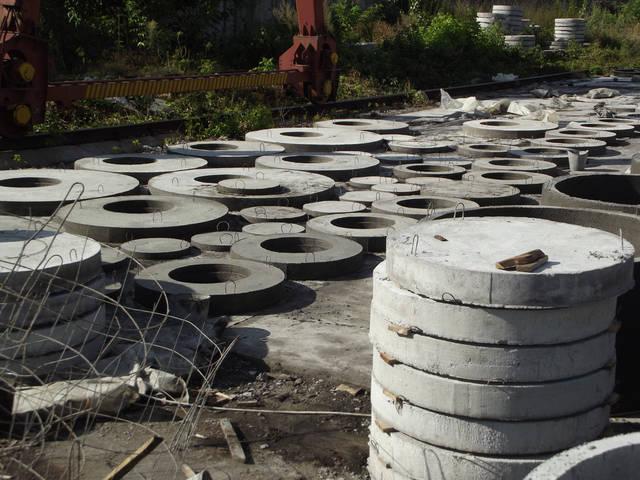 Производство бетонных колец 3