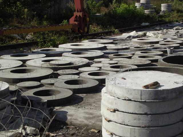 Производство бетонных колец 4
