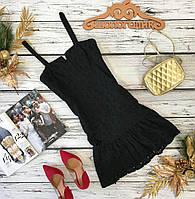 Легкое летнее платье с женственным приталенным силуэтом  DR180351