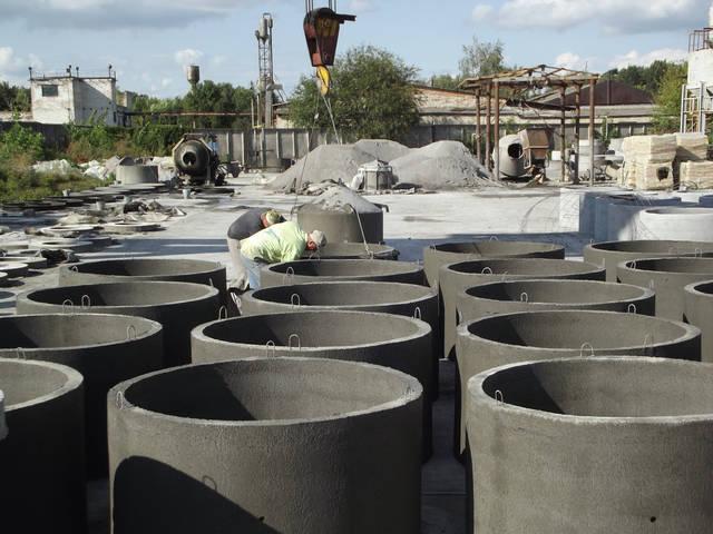 Производство бетонных колец 5
