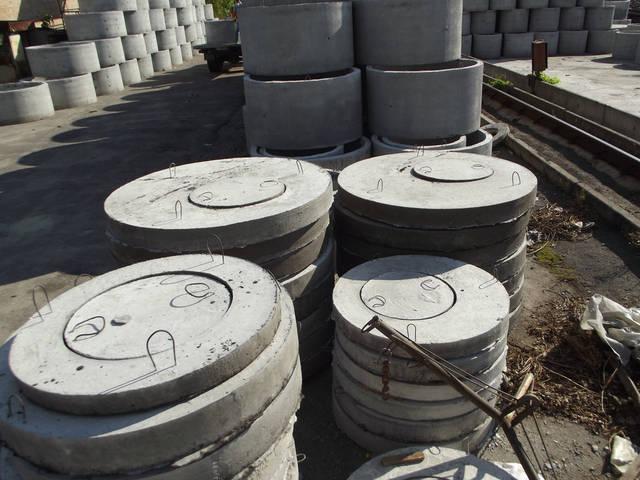 Производство бетонных колец 10