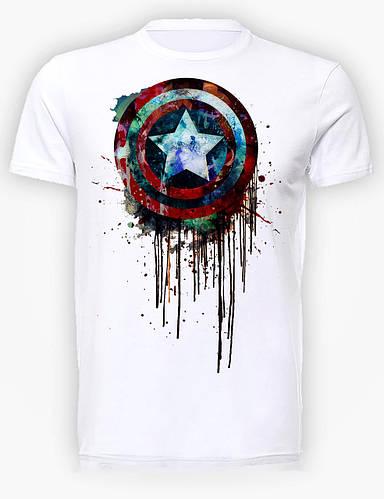 Футболка мужская GeekLand Капитан Америка Captain America blood shield CA.01.005
