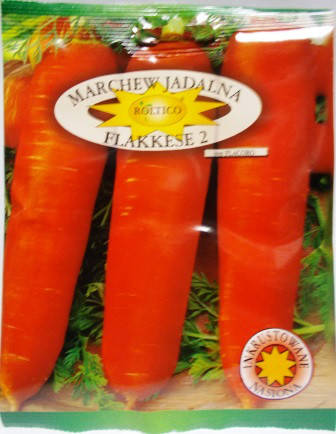 Морква Флакке 2   20г (Roltico)