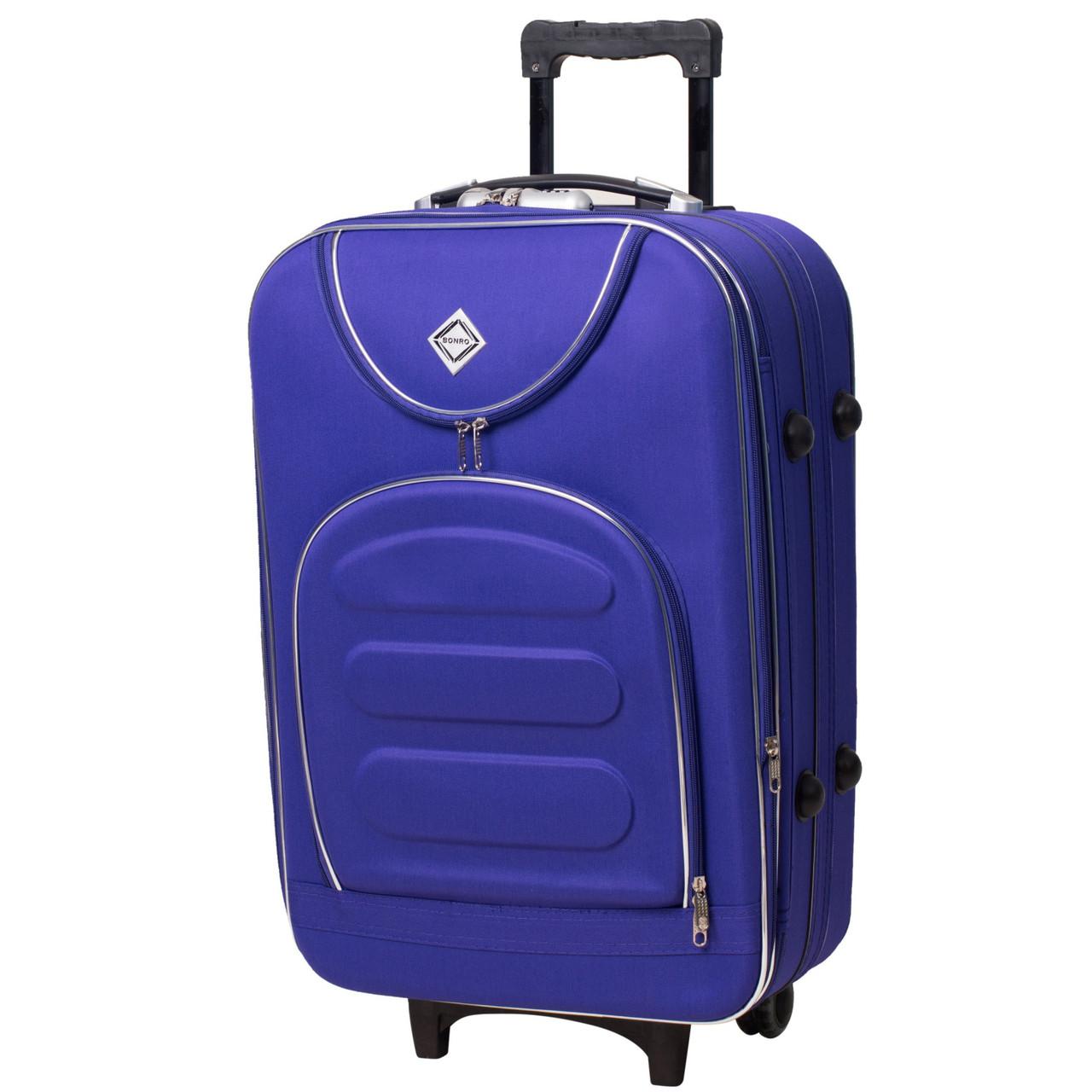 16d6320e51b4 Маленький чемодан на колесах Bonro Lux фиолетовый - Интернет магазин Lisbag  в Умани