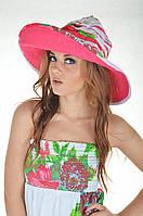 Шляпа пляжная хлопок Iconique KA 4001 One Size Малиновый