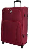 Чемодан сумка на колесах Bonro Tourist маленький вишневый