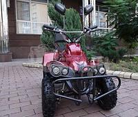 Электроквадроцикл CRAFTER FISHER 36 вольт 800 ватт, амортизатор задний, спинка для второго пассажира
