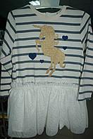 Платье PIAZZAITALIA трикотажное для девочки