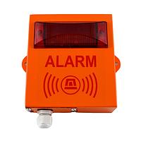 Сирена 220В IP65 свето-звуковая Гермет-3