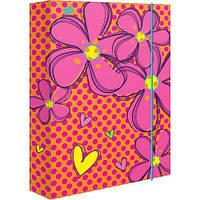 """Папка для труда картоная А4 """"Flowers"""""""