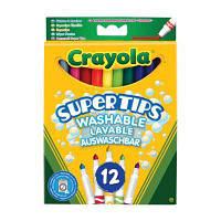 Набор для творчества Crayola 12 тонких фломастеров ярких цветов (7509)