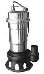 Канализационный насос фекальный Kenle P-238 для выгребных ям 2.5кВт Hmax16м Qmax200л/мин (нержавейка)