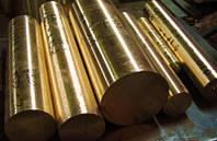Сарни Бронзовий пруток коло пресований БрАЖ 9-4 штанги до 3м, Діаметр 16мм-180мм ГОСТ 1628-78 хв. обсяг 1кг, фото 1