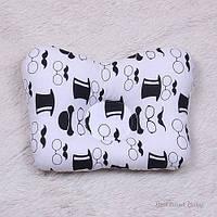 Детская подушка для новорожденных Джентльмен