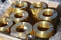 Втулка бронзова Труба ОЦС 555 БрАЖ 9-4 наявність Відцентрове лиття в кокіль Втулки ковзання, кочення, фото 1