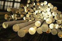 Мелітополь Бронзовий пруток коло пресований БрАЖ 9-4 штанги до 3м, Діаметр 16мм-180мм ГОСТ 1628-78 Різання, фото 1