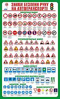 Стенд Знаки безпеки руху на автотранспорті