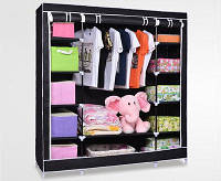 Складной тканевый шкаф Stylish portable simple wardrobe hcx-153nt