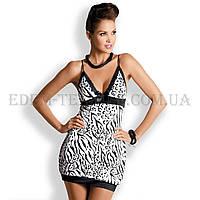 Рубашка женская Obsessive Zebra Chemise, Зебра
