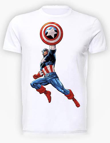 Футболка мужская GeekLand Капитан Америка Captain America comics CA.01.008