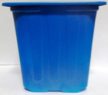 Горщик для розсади 7*7*6,5 синій