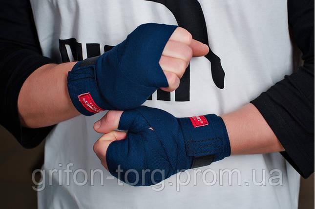 Бинты боксерские хлопок (пара) 2,5 м, фото 2