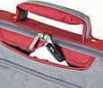"""Сумка для ноутбука от 15,4"""" доя 16"""" Sumdex Passage PON-301RD красный с серым, фото 7"""