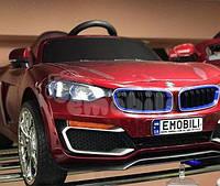 Детский электромобиль кабриолет BMW с багажником