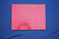 """Лист перфорированный """"Вико"""", 45 х 60 см. (Красный) БУ, фото 1"""
