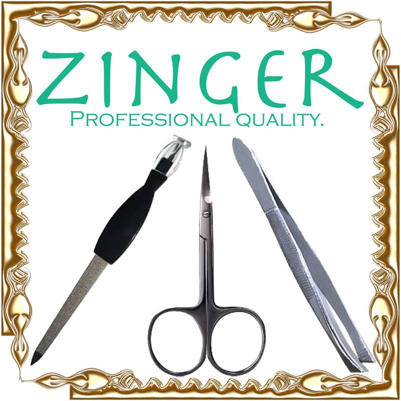 Маникюрный набор Zinger 3 в 1