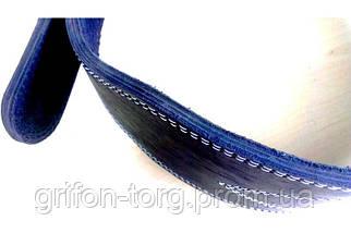 Пояс атлетический кожаный 3-хслойный р-р М (80 - 100 см), фото 2