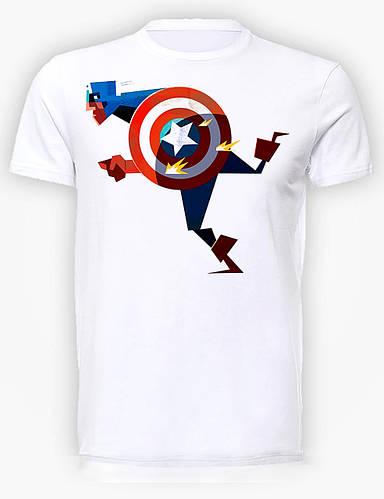 Футболка мужская GeekLand Капитан Америка Captain America fun CA.01.010