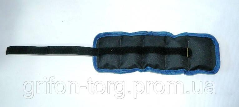 Утяжелители для рук и ног 1,0 кг пара (2 по 0,5 кг), фото 2